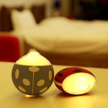 新款甲壳虫夜灯暖手宝 充电发热快电暖宝 USB迷你移动电源暖宝宝