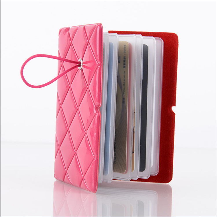 PVC皮质卡包定制时尚多卡片包名片护照钱包 男士女士钱夹厂家批发