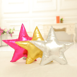 ins suella with five-pointed star pillow Baby soothing pillow doll photo decoration