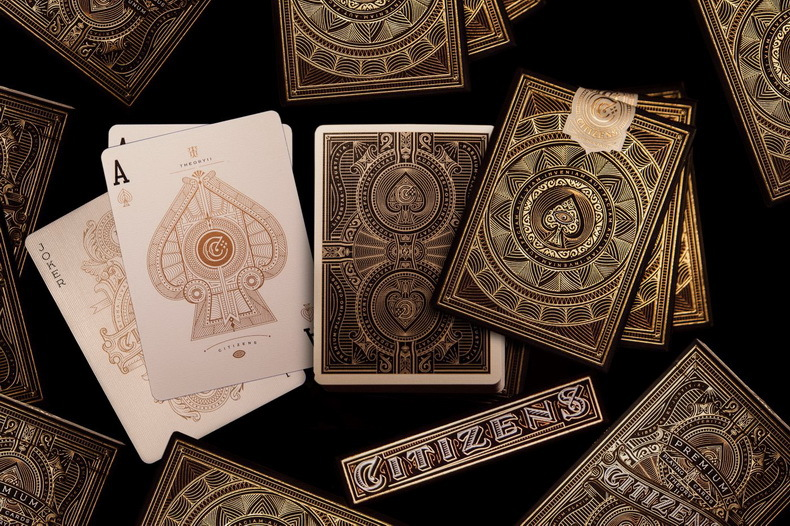 1 Pcs Citizen Playing Cards Citizens Collectable Poker Size Uspcc Theory11 Custom Limited New Sealed Magic Deck Magic Tricks Classic Toys