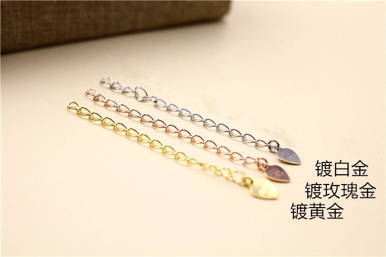 Silver Fashionnecklace(White gold sincere) NHDY0132-White gold sincere