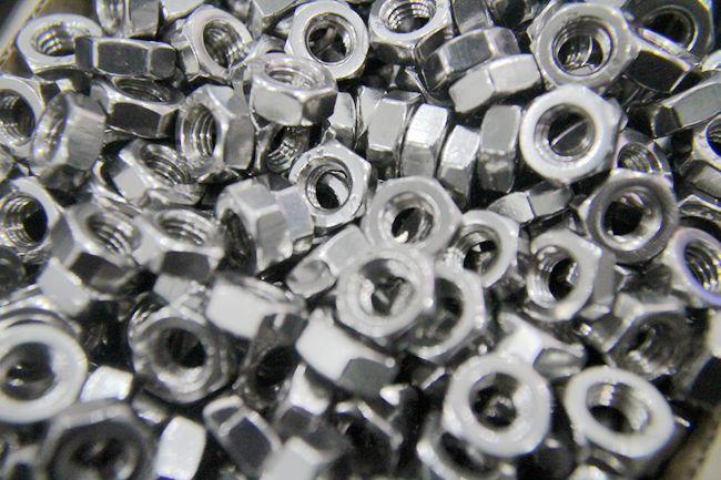 正宗304不锈钢螺母 M8六角螺母 GB52六角螺帽不锈钢紧固件标准件