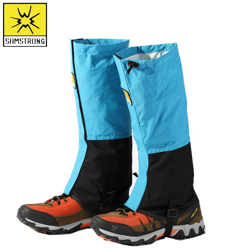 杉木山庄男女雪套户外防雪鞋套防泼水透气防沙防护腿套沙漠脚套