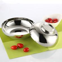 冷面碗 不锈钢冷面碗 韩式料理店专用单层冷面碗米饭碗 韩国餐具