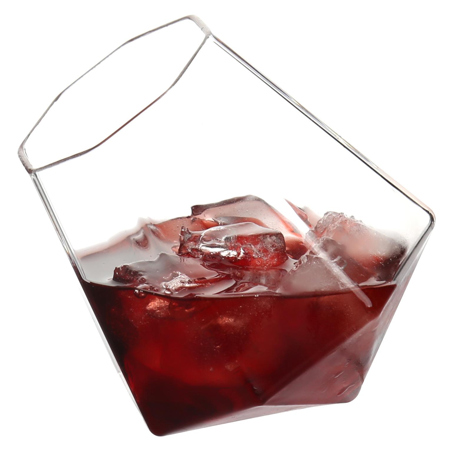 创意个性高鹏硅玻璃酒杯威士忌杯果汁杯透明啤酒杯
