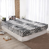 The supply of bedding super soft fashion personality 150/180 color zebra four piece fitted