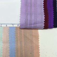 现货 棉麻梭织布料全棉布仿麻提花纱罗条子纯棉布床上用品棉布料