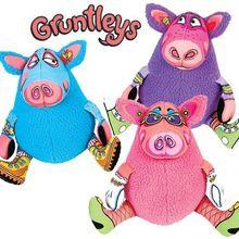 猪家庭FatCat 宠物狗玩具 毛绒耐咬发声玩具宠物用品 批发出口