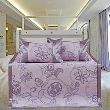 家纺家居凉席高档定制 苎麻席折叠1.5米1.8m席子双人三件套