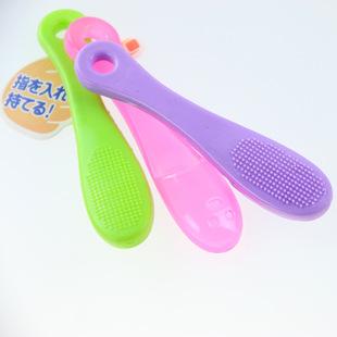 硅胶洗面刷 洁面小巧洗脸刷 手指刷小鼻刷 可用于赠品小礼物批发