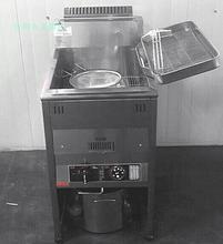 丸美牌燃气油炸商用油炸机18F油炸炉炸锅炸鸡排鱿鱼专用 保修