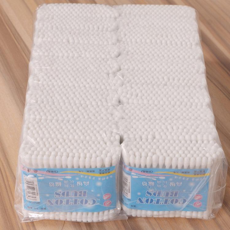 【源头工厂】棉签厂家棉棒批发一次性95支袋装?#21672;?#22609;料棒棉签棉