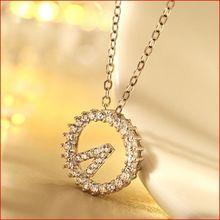S925纯银微镶锆石钻我爱你520时钟?#19981;?#22368;锁骨套链女时尚短款项链
