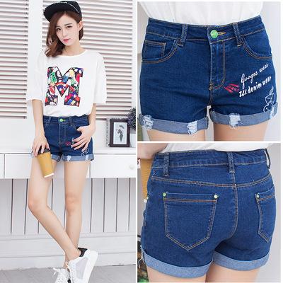 Quần short jean nữ thời trang, thiết kế mới trẻ trung, mẫu Hàn Quốc