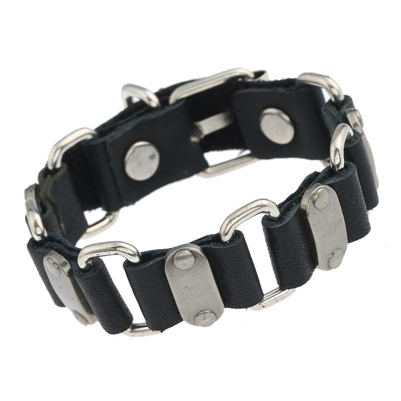 Cowhide connection bracelet NHPK195299
