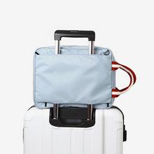 批發 2016新款韓版折疊旅行包手提行李收納包尼龍防水行李袋