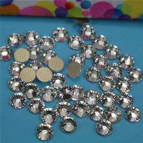 High grade AAA gold base white diamond nail applicator magic AB beauty drill bright diamond mobile phone sticking drill