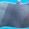 大量現貨供應經編網眼布 淺藍色網布 藍色復合網布 洞洞網布