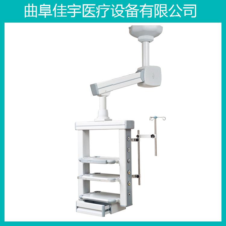 单臂电动腔镜塔