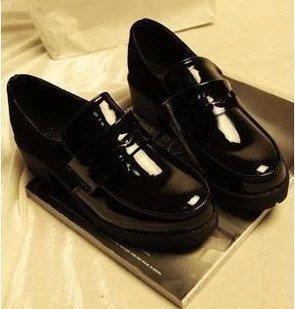 日系学生鞋女仆鞋日本JK制服鞋 cos万用洛丽塔lolita皮鞋黑色
