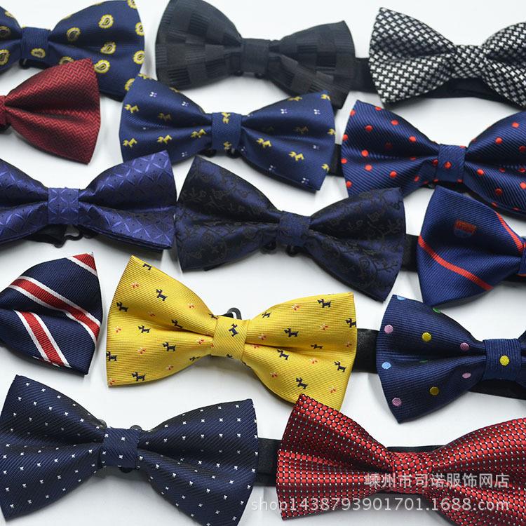 厂家直销 男士正装西服英伦韩版领结 新潮爆款蝴蝶结 来样定做