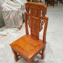 餐厅实木餐桌餐椅仿古家具老榆木饭店实木椅子酒店家具生产厂家