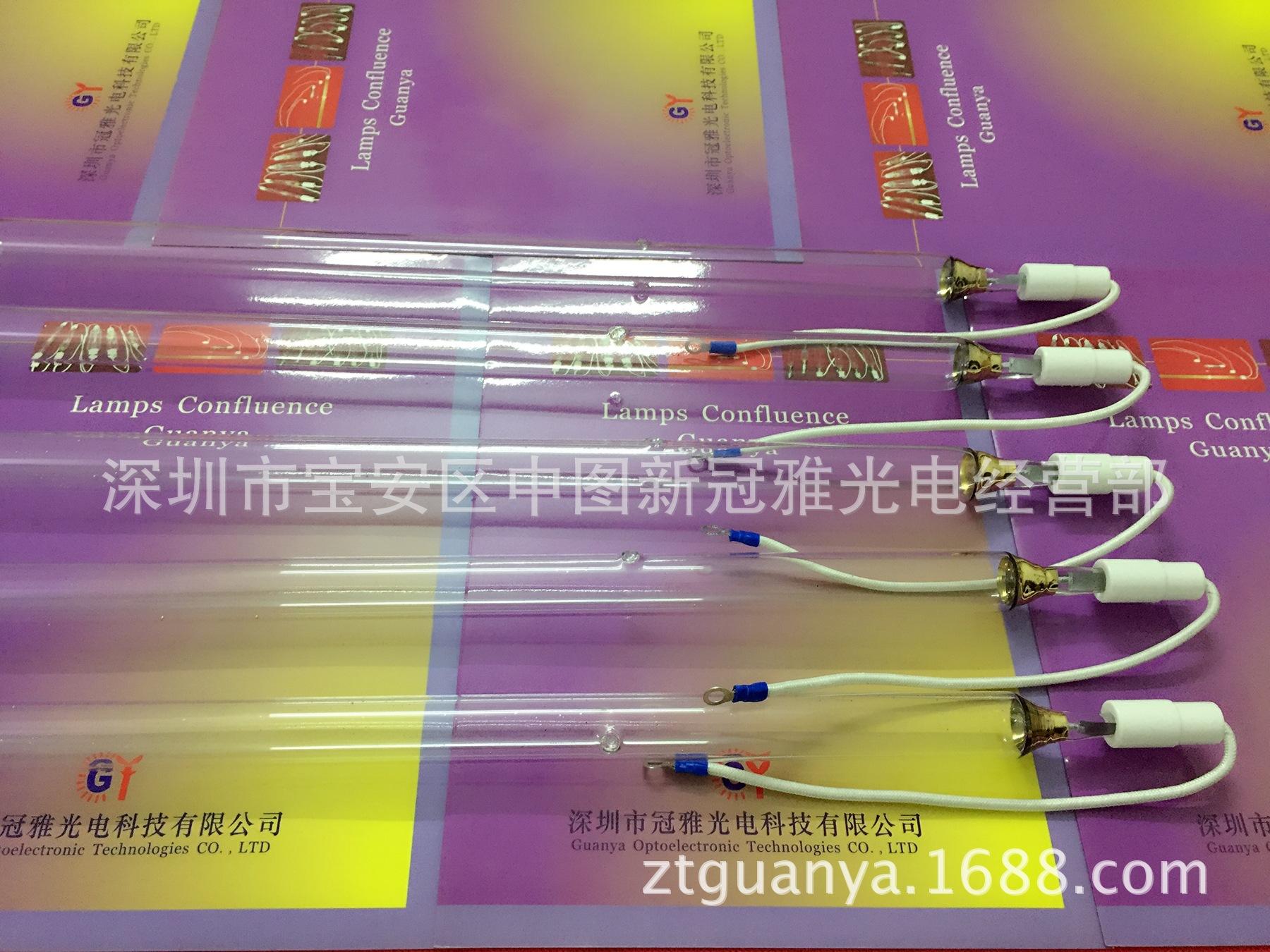 高压汞灯_无影uv胶水固化灯管隧道uv炉油漆光固高压汞灯