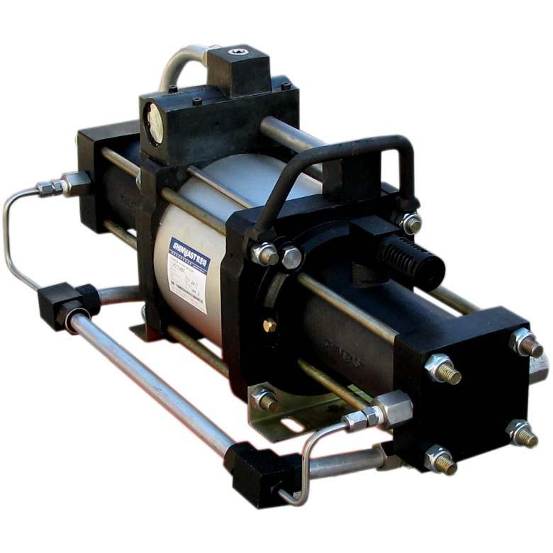 STA系列气体增压泵(单作用 ) 氦气氩气氧气氢气天然气增压阀