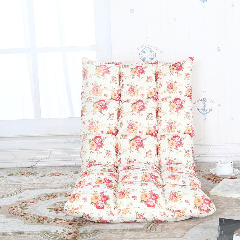 新款懒人沙发榻榻米小沙发椅单人折叠床上靠背椅飘窗椅诚招代理