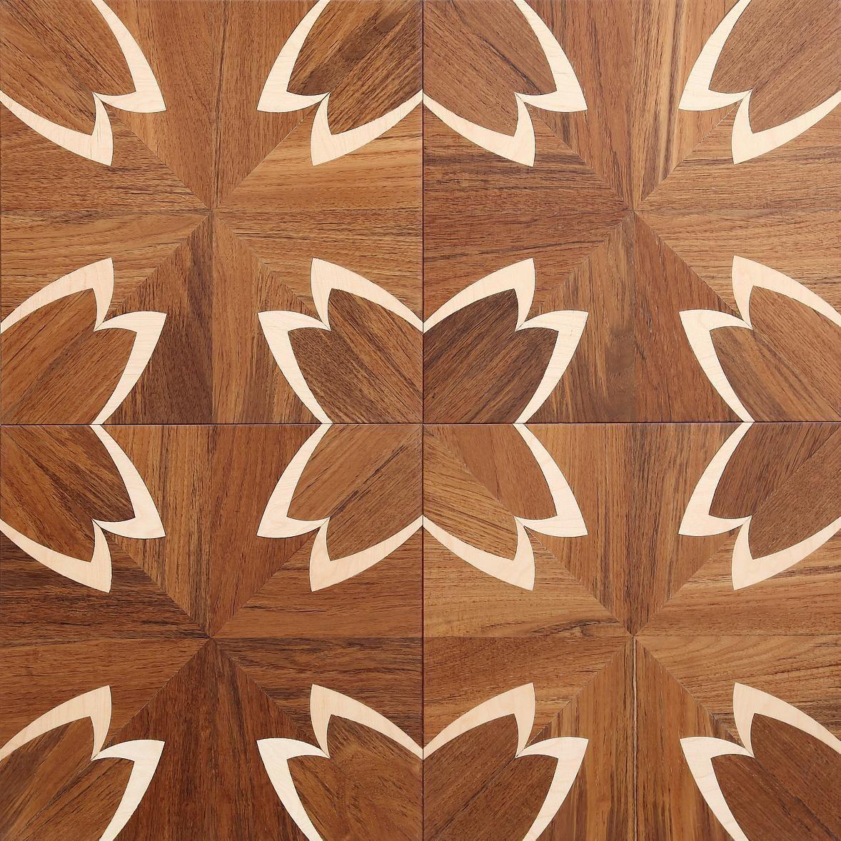 曲线拼花地板