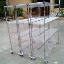 仓库钢制货架轻型仓储工厂中型展示架角钢架家用储物置物架子