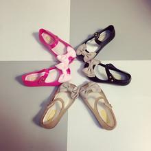 合利鲨 童鞋女公主鞋可爱新款防水防滑女童凉鞋软底塑胶果冻鞋宝