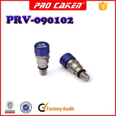 CAKEN 越野摩托减震 放气螺丝   不锈钢放气阀 PRV-090102 蓝色
