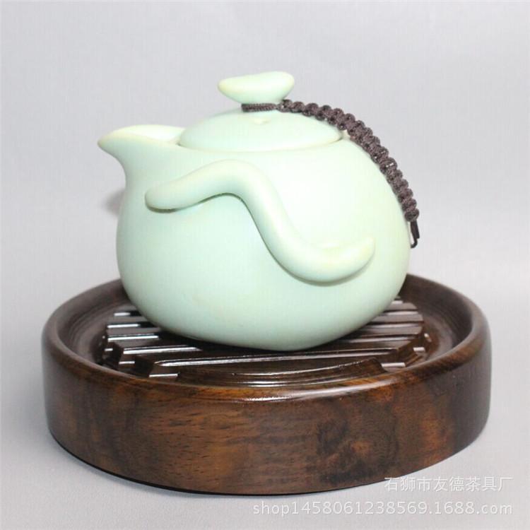 黑檀木壶托 粗陶壶承养壶茶壶干泡台茶垫杯垫底座壶架 茶道零配件