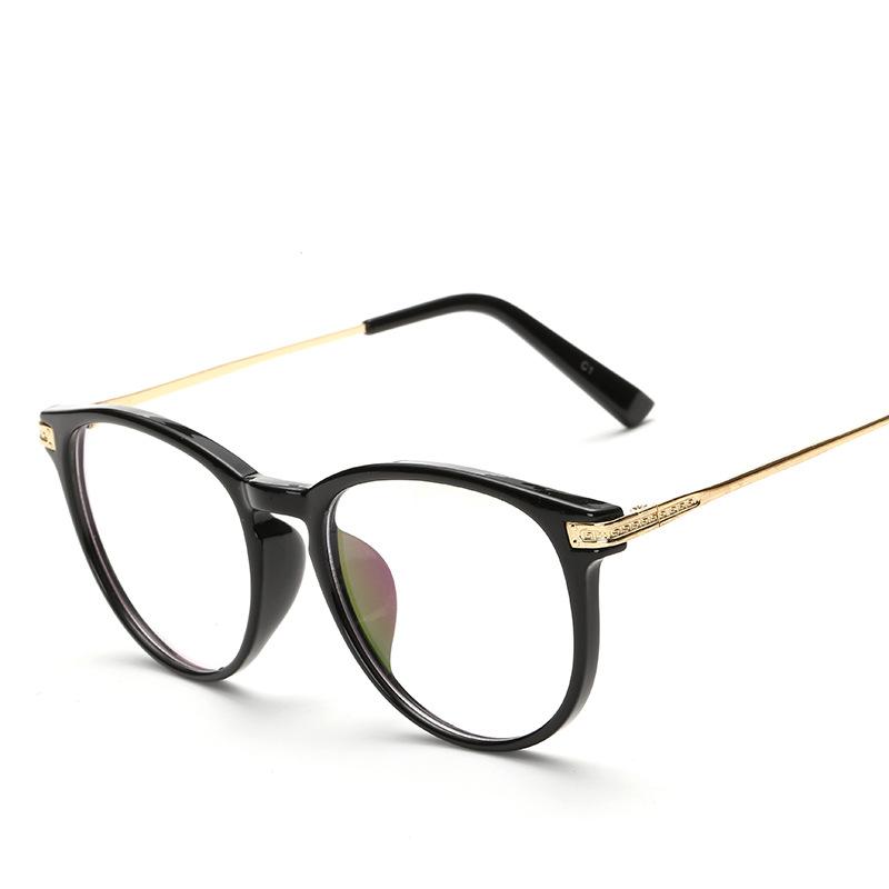 Fashion Glasses Frame3602新款平光镜 复古框架镜 圆框眼镜框时尚近视架男女通用平光镜