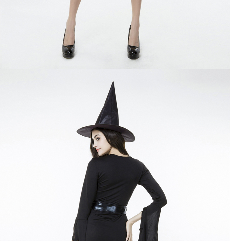 Halloween Witch Costumes Black Irregular Sister Witch Party Costume NHFE155282