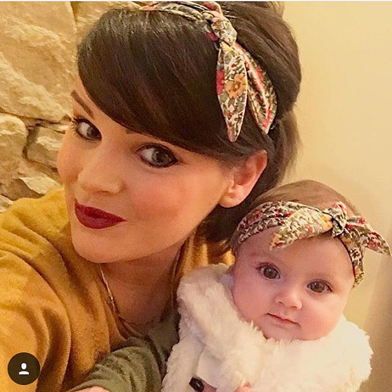 The new baby Mother floral hair accessories ebay paternity hair band hair  bands European and American d01d69b54e0