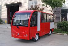 昆明17座電動巴士多少錢17座全封閉電動小公交幾個鄉鎮電動營運車