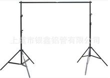 三脚架2*2米摄影架伞灯灯架背景架 背景布专用 简易背景架