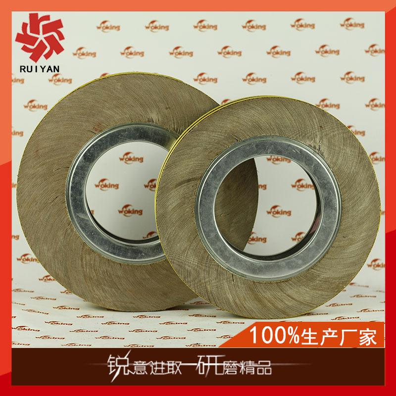 佛山磨料磨具生 产300*50*170mm千叶轮厂家 千页轮工厂抛光轮公司