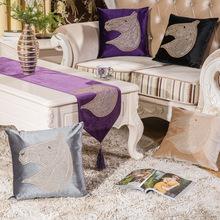 义乌吉好仕 跨境东南亚 马头欧式经典爆款抱枕靠垫沙发家居装饰