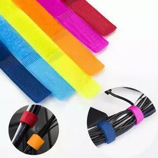 Cable management tape Computer cable wire management tie-up tape Bundling Velcro cable organizer Cable tie tie-up tape