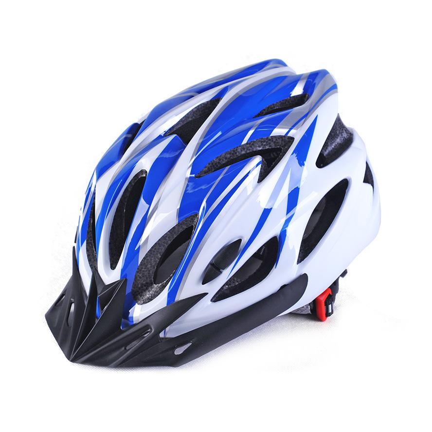普通一体头盔自行车骑行头盔一体成型男女山地车头盔滑步车头盔