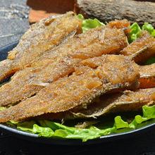 涨潮海鲜水产品零食休闲食品 批发鱼干鱼丝小鱼仔香酥小黄鱼100g