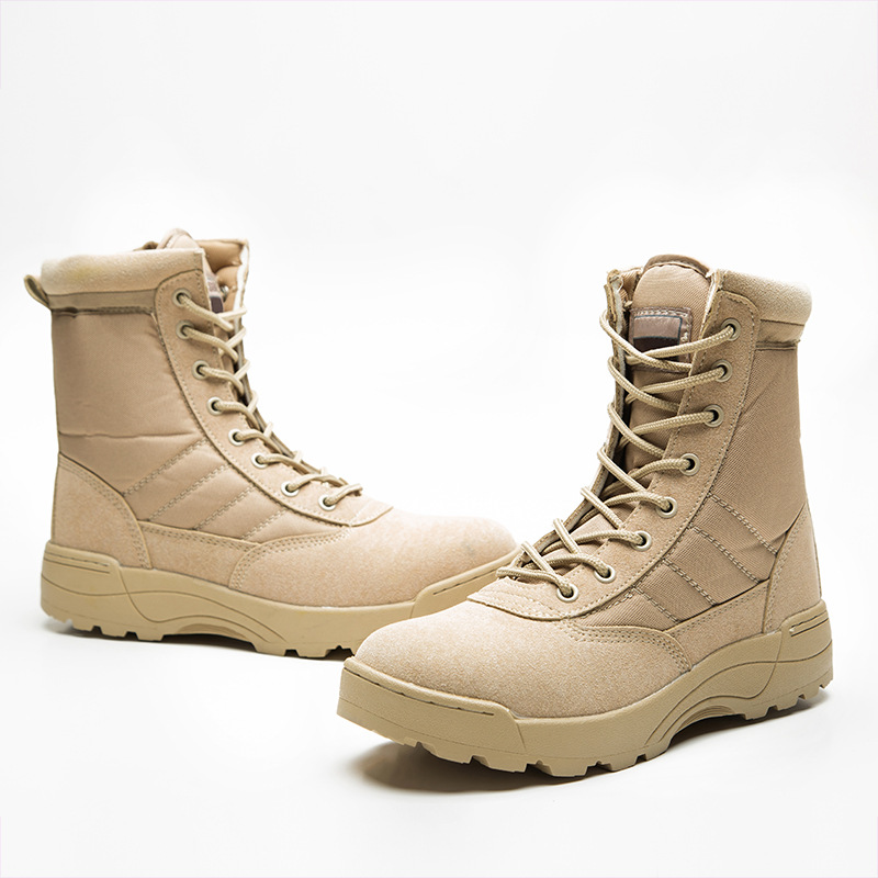 Boots Winter Military leather boots for