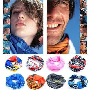 Outdoor headscarves Variety magic headscarves for men and women bicycle riding headscarves face mask collar sunscreen bib summer
