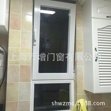 【上海万增批发品牌门窗公司】凤铝60断桥铝阳台窗门窗批发价格