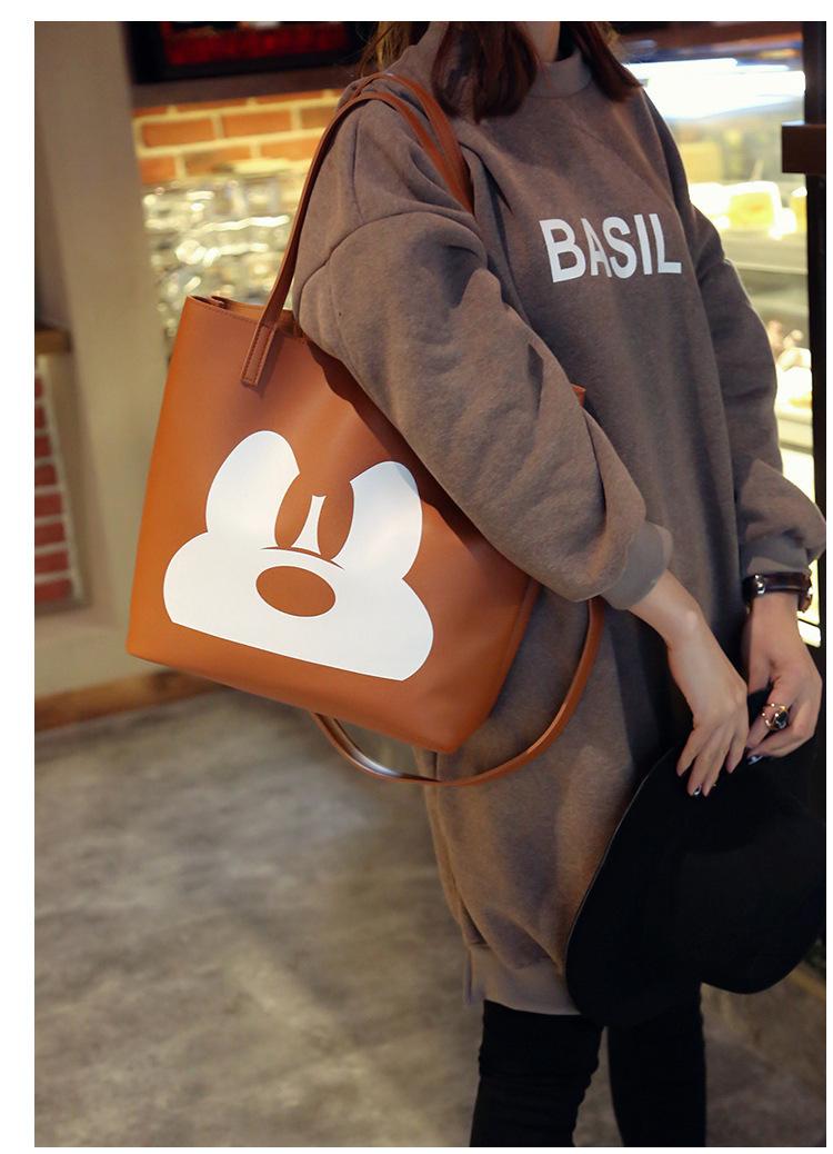 Cute PUShoulder Bags(black)NHSK0138-black