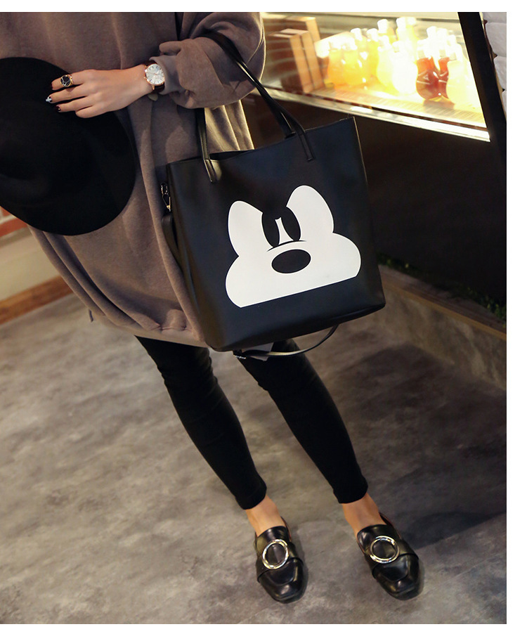 Cute PUShoulder Bags(black)NHSK0138-black