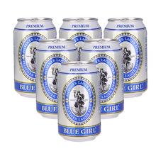 原装进口啤酒批发 韩国蓝妹啤酒330ML听装 整箱实体批发